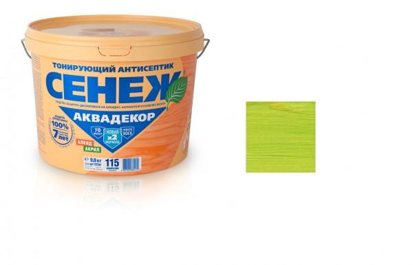 ლაქი ანტისეპტიკური სენეჟ აქვადეკორი(X2) 2,5 კგ. გვიმრა